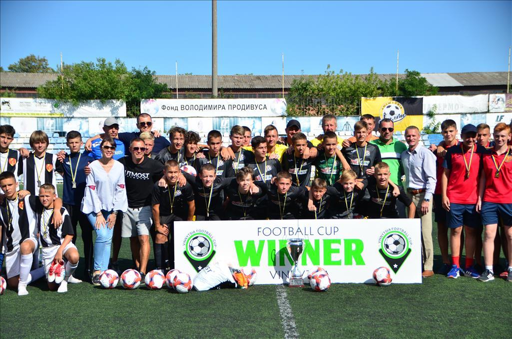 """Столичний """"Атлет"""" - переможець Utmost Cup U-13, що проходив у місті над Бугом з 13 по 17 серпня!"""